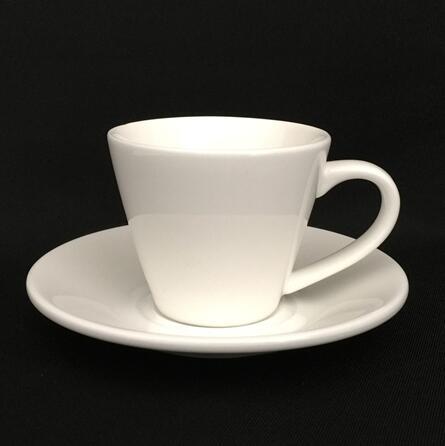 Porcelain expresso coffee cup set , expresso white coffee mug