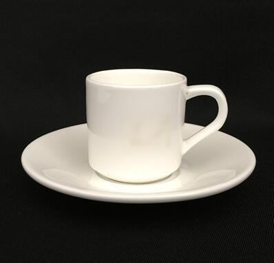 Porcelain expresso coffee cup and saucers,coffee mug ceramic