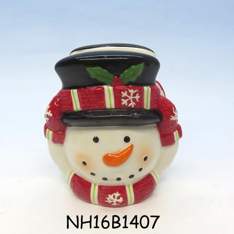 Ceramic Christmas Snowman Napkin Holder, Custom accept
