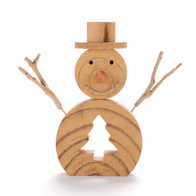 Custom shape Natural Driftwood sculpture Decor, Snowman