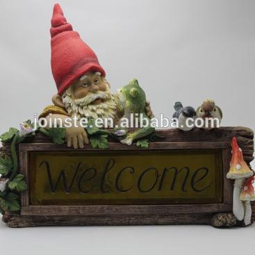 Custom cheap resin garden gnome decoration hot sale