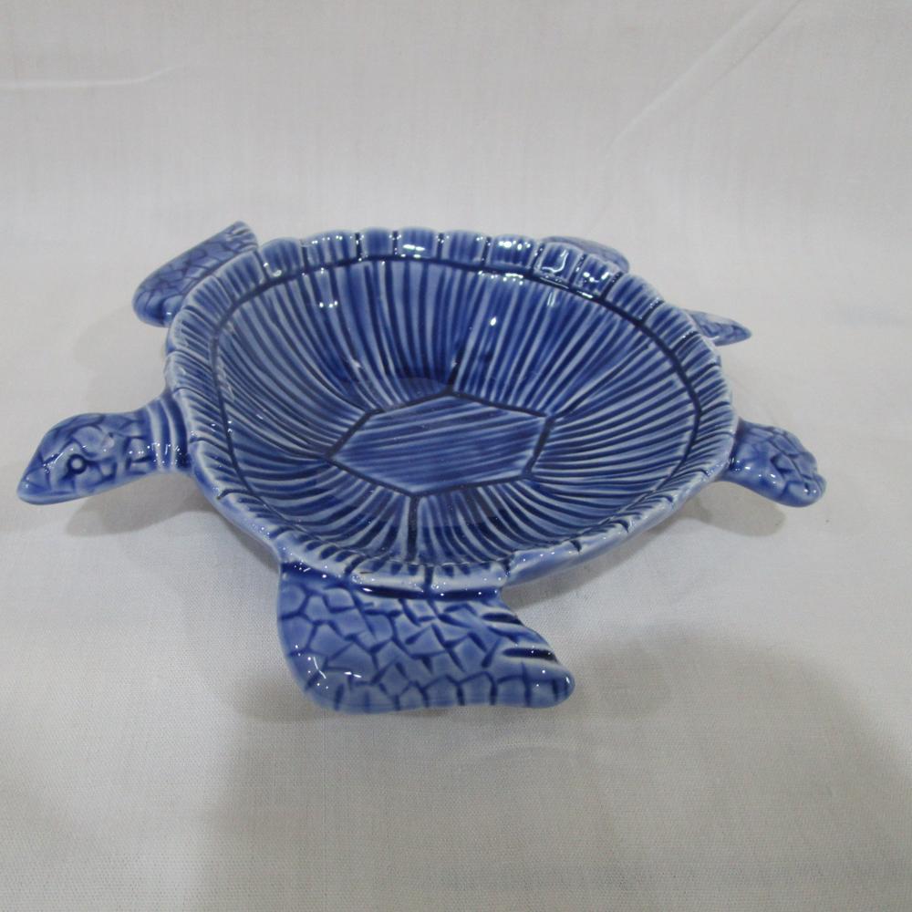 Ceramic Decorative Bowls Adorable 2 Piece Ceramic Sea Turtle Bowl Set 8 X 2.5 X 6.75 Inches White