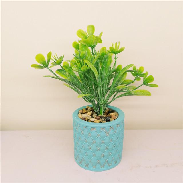 Mini Succulent  Cement Pot ,Decor Hand made Cement  Crafts