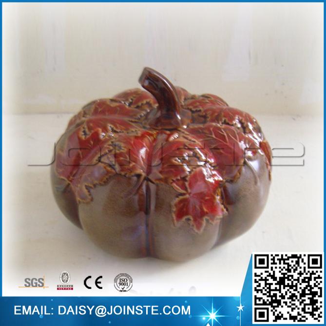 Home decorative ceramic pumpkin decoration