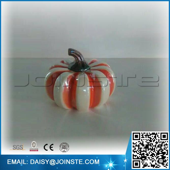 Different kinds of ceramic artificial pumpkins