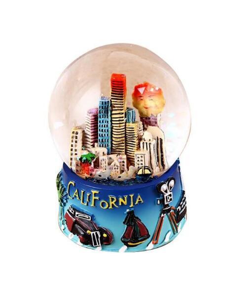 California snow globe  souvenirs snowglobes  gift