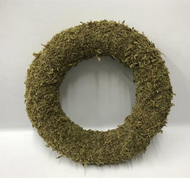 Natural moss door wreath,autumn fall wreaths