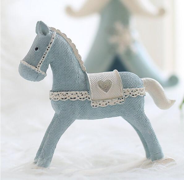 Little pony resin crafts creative desktop decoration gifts